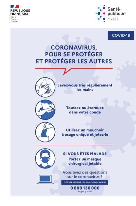 informations COVID19